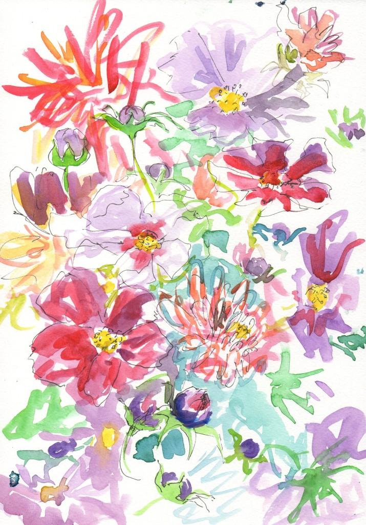 flowers, 1596