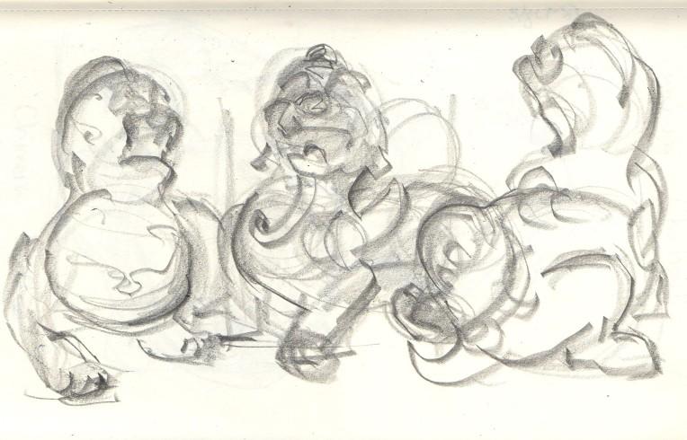 chinese chimera sketch
