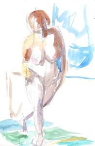 10 minute figure sketch