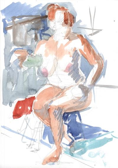 20 minute figure sketch
