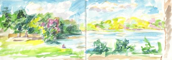 little lake at roger williams park