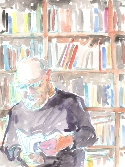 oliver sacks in his office