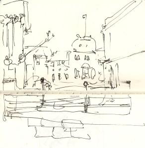 quick sketch city hall