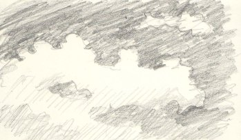 cloud sketch