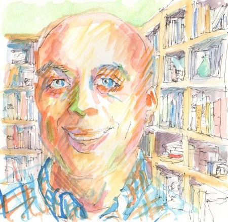 portrait sketch Pauls Toutonghi
