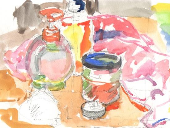 tabletop sketch