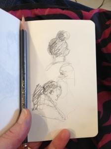salon sketchbook