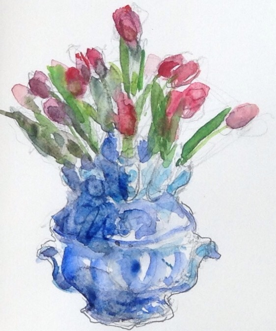 Old And New Dutch Tulip Vases Moveable Paintbox