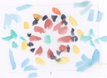 pattern skecth mosaic