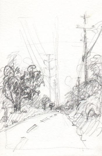 bike path sketch
