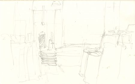 sketch for carpet shop