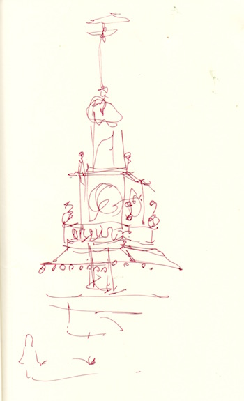 courthouse tower quicksketch